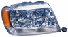 Jeep Grand Cherokee 99-01 Headlight Assembly RH USA Passenger Side Limited Model