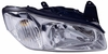 Nissan Maxima 00-01 Headlight Assembly LH USA Driver Side with Chrome Bezel