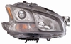 Nissan Maxima 11 Headlight Assembly 3.5 SV Model Xenon, with Sport Package RH USA Passenger Side