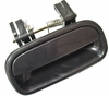 Toyota Tundra 00-06 Access Cab Outside Door Handle  Rear LH USA Driver Side  (Smooth Black)