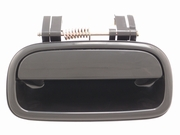 Toyota Tundra 00-06 Access Cab Outside Door Handle  Rear RH USA Passenger Side  (Smooth Black)