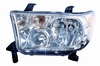 Toyota Tundra 07-10 / Sequoia 08-10 Headlight Assembly (09-10 without Level Adjuster) LH USA Driver Side