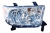 Toyota Tundra 09-11 Headlight Assembly with Level Adjuster RH USA Passenger Side