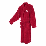 Cincinnati Reds Men's Ultra Plush Red Bathrobe