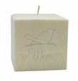 "3"" PALM WAX CANDLE : SONGBIRD FOR MOM"