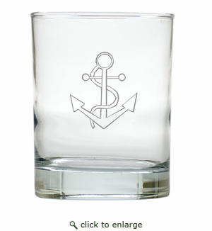 ANCHOR OLD FASHIONED - SET OF 4 (Unbreakable)
