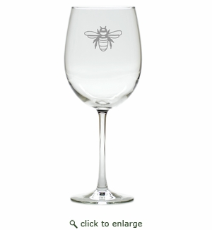 BEE WINE STEMWARE - SET OF 4 (GLASS)