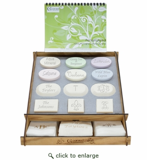 Carved Solutions Personalized Soap Retail Program