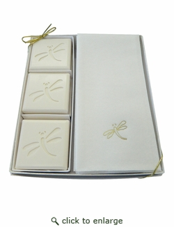 COURTESY GIFT SET : GOLD DRAGONFLY