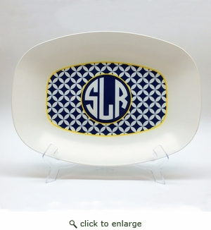 "Custom Personalized  10"" x 14"" Platter"
