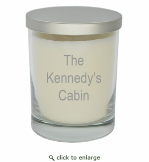 ECO-LUXURY SOY CANDLE CABIN