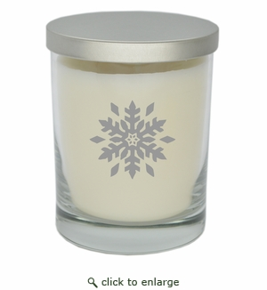 ECO-LUXURY SOY CANDLE: SNOWFLAKE