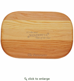 """EVERYDAY BOARD: 10"""" x 7"""" SMALL PERSONALIZED MOST WONDERFUL TIME"""