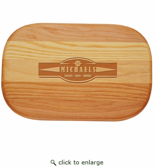 """EVERYDAY BOARD: 10"""" x 7"""" SMALL PERSONALIZED- Sports, Food, & Drinks"""