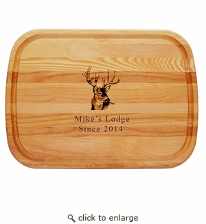 """EVERYDAY BOARD: 21"""" x 15"""" LARGE PERSONALIZED BUCK"""
