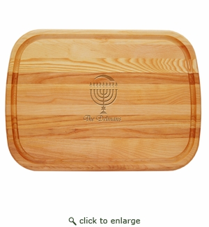 EVERYDAY BOARD: LARGE PERSONALIZED MENORAH