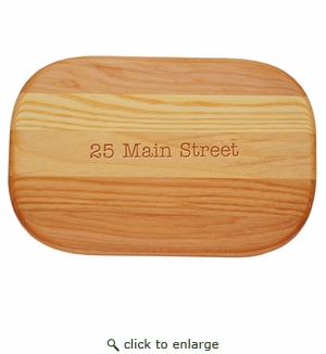 EVERYDAY BOARD: SMALL PERSONALIZED ADDRESS