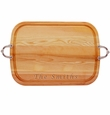 """EVERYDAY COLLECTION: 21"""" x 15"""" LARGE SERVING TRAY WITH NOUVEAU HANDLES"""