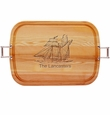 "EVERYDAY COLLECTION: 21"" x 15"" LARGE TRAY URBAN HANDLES PERSONALIZED SHIP"