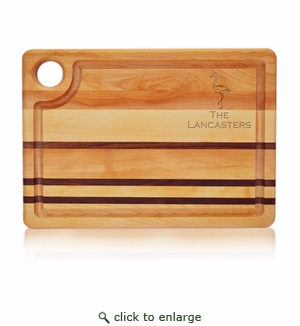 Flamingo Integrity Personalized Steak Carving Board