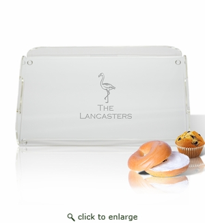 Flamingo Personalized Serving Tray