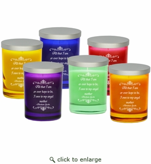 Gem Collection Candles : Eco-Luxury Décor - Angel Mother