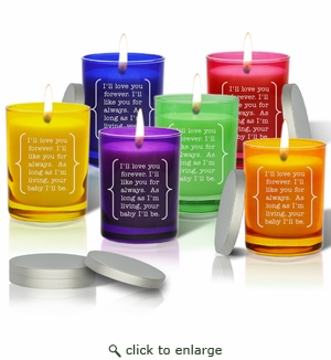 Gem Collection Candles : Eco-Luxury Décor - I Love You