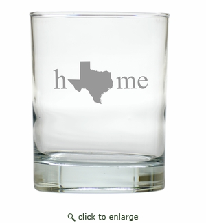 HOME STATE OLD FASHIONED - SET OF 6 GLASS