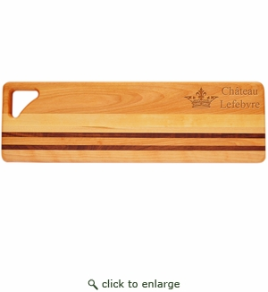 "INTEGRITY LONG BOARD: 20"" x 6"" PERSONALIZED CROWN"