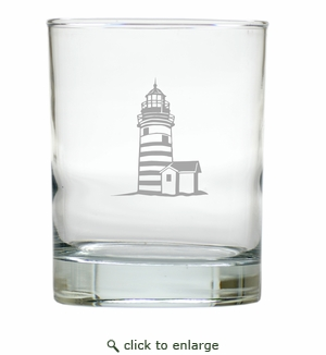 LIGHTHOUSE OLD FASHIONED - SET OF 4 (Unbreakable)