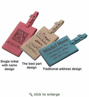 LUGGAGE TAG : ASSORTED COLORS