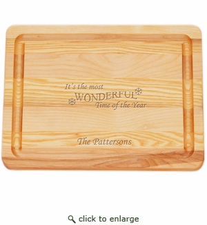 """MASTER COLLECTION: 10"""" x 7.5"""" SMALL BOARD MOST WONDERFUL TIME PERSONALIZED"""