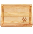 "MASTER COLLECTION: 10"" x 7.5"" SMALL BOARD PERSONALIZED PAW PRNT"