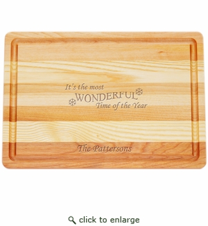 """MASTER COLLECTION: 14.5"""" x 10"""" MEDIUM BOARD MOST WONDERFUL TIME PERSONALIZED"""