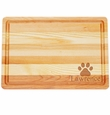 "MASTER COLLECTION: 14.5"" x 10"" MEDIUM BOARD PERSONALIZED PAW PRINT"