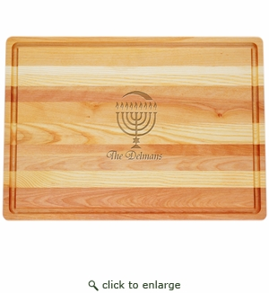 MASTER COLLECTION: LARGE BOARD PERSONALIZED HANUKKAH