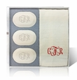 ORIGINAL GIFT SET (3 Bars 1 Towel) : MONOGRAM