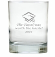 PERSONALIZED OLD FASHIONED - SET OF 4 (Unbreakable): TASSEL WORTH THE HASSLE