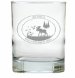 PERSONALIZED OLD FASHIONED - SET OF 4 (Unbreakable): Wild Game Bar & Grill
