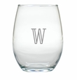 PERSONALIZED WINE STEMLESS TUMBLER - SET OF 4 (GLASS)