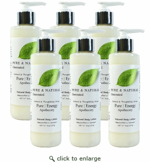 Pure|Energy Apothecary Body Lotion - Pure & Natural 8 oz : Case of 6