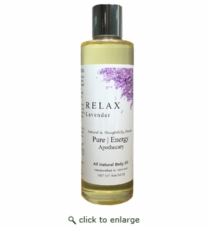 Pure|Energy Apothecary Body Oil - Lavender 8 oz