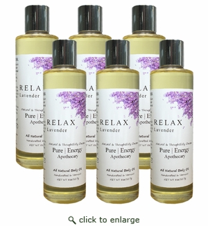 Pure|Energy Apothecary Body Oil - Lavender 8 oz : Case of 6