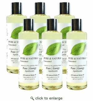 Pure|Energy Apothecary Body Oil - Pure & Natural 8 oz : Case of 6