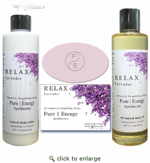 Pure|Energy Apothecary : Daily Delight Gift Set (# 1) Lavender
