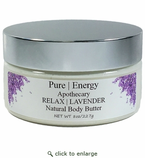 Pure|Energy Apothecary Lavender Body Butter 8 oz