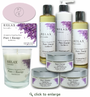 Pure|Energy Apothecary� : Premium Spa Collection Gift Set # 7 Lavender