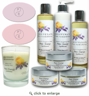 Pure|Energy Apothecary : Premium Spa Collection II Gift Set #8 Pure Aromatherapy