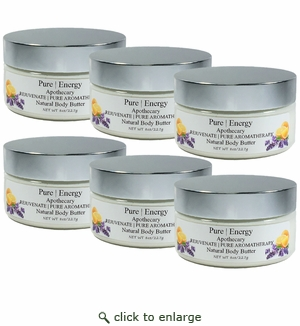 Pure|Energy Apothecary Pure Aromatherapy Body Butter 8 oz : Case of 6