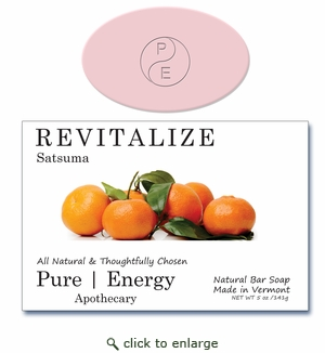 PURE | ENERGY APOTHECARY: REVITALIZE with Satsuma
